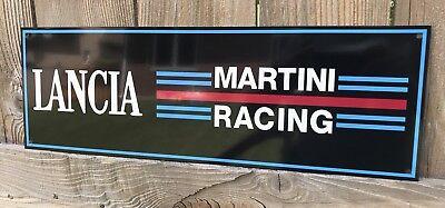 Lancia Team Martini Racing Reproduction Garage Sign