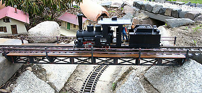 850mm Stahlträger Brücke - Gartenbahn LGB PIKO - CNC Kunststoffbausatz