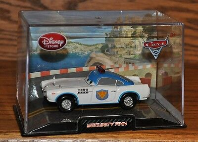 Disney Store Cars 2 Die Cast Collector Case Raoul CarRoule 1:43 Scale NEW