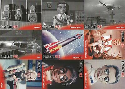 Stingray Gerry Anderson Full 54 Card Base Set 6 Card Chase Set