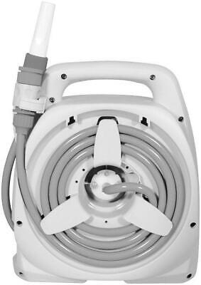 RAMROXX Schlauch Wandhalter Schlauchaufroller bis 60m Gartenschlauch