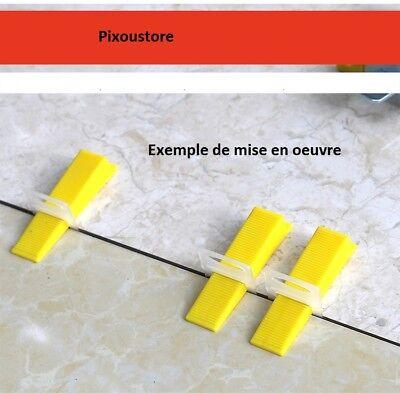 CLASSICLEVEL Outil d/'aide à la pause de carrelage Kit de 100 clips de 1mm