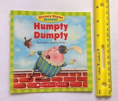 Nursery Rhyme Childrens Books Beginning Readers Lot 12 2
