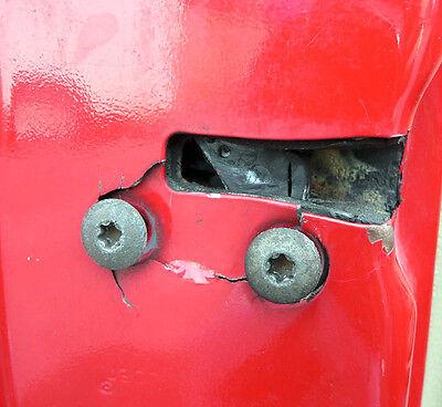 Jeep Grand Cherokee (ZJ) 93-98 DRIVER door latch repair & reinforcement plate 6