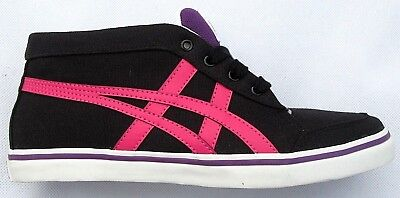 Womens Girls Onitsuka Tiger Renshi Mid Canvas Fashion Trainers Sneakers Size 6