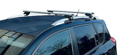 M-Way Eagle Aluminium Lockable Roof Bars Car Rails Pair for VW Polo Dune 04-08