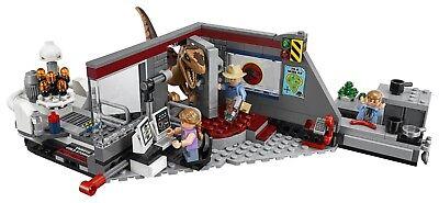 LEGO JURASSIC WORLD 75932 Jagd auf den Velociraptor Jurassic Park N6 ...