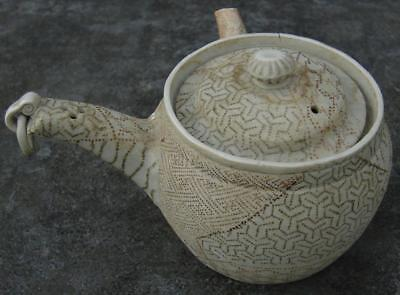 Top Antique Banka porcelain Japanese teapot,  Meiji period for islamic market