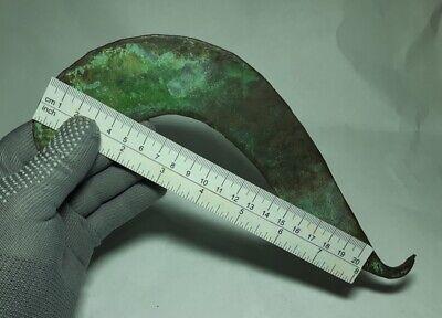 RARE Perfect Ancient EUROPEAN BRONZE AGE Celtic Copper SICKLE  1500-1000 BC 6
