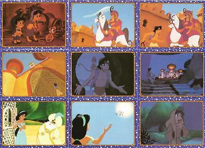 Disney/'s Aladdin Story Cards Full 100 Card Base Set of Trading Cards from Panini
