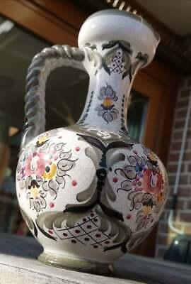 Apotheker - alte, wunderschöne, handbemalte Keramik - Kanne - Schick!!! 8