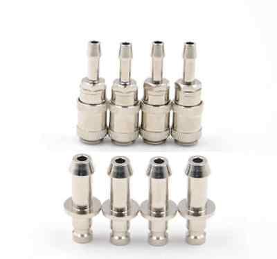 4sets NIBP Air Hose Aadpt Cuff Connector BP12 BP15 Airway Metal Joints 2