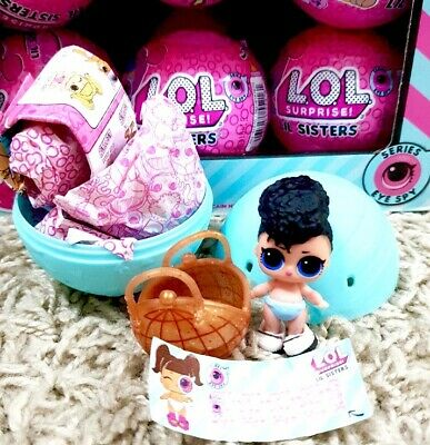 LOL Surprise! Lil Miss Jive Doll Little Sister Ball COLOR CHANGER Complete NEW! 8