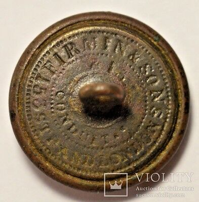 Button Royal Artillery England Crimean War 19th century 5