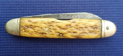 Very Rare WW2 U.S.A. Army Engineer Pocket Knife Camillus with Bone Scales