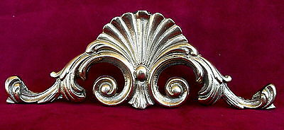 ANTIQUE DECORATION  SOLID BRONZE SIZE 19.5x7x0.5 cms -WEIGHT 212.3 gms 2
