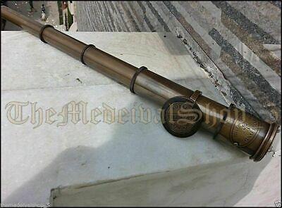Maritime Telescope Marine Antique Brass Pirate Spyglass Vintage Scope Handmade 5