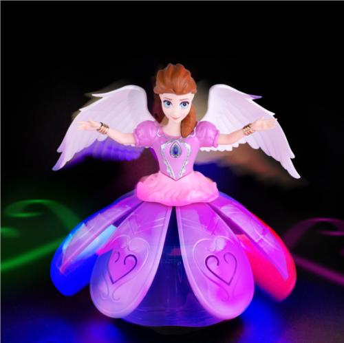 LED Robot Dance Doll Light Music KidsCool Gift Toy For Girls X5A7E