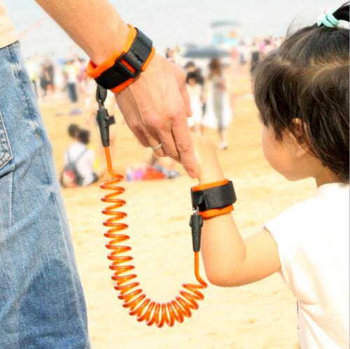 Toddler Baby Kids Safety Harness Hand Belt Anti-lost Walking Strap Wrist Leash 2