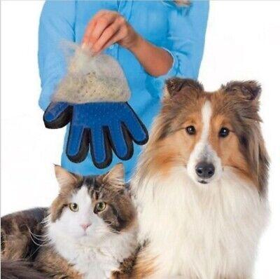Gant brosse ,brossage,massage ,ramasse poils,toilettage pour chien ou chat 4