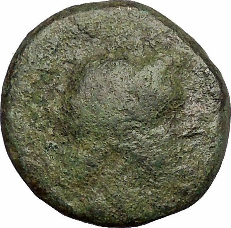 ANTIOCHOS II Theos 261BC Seleukid Tripod Authentic Ancient Greek Coin i52023 2