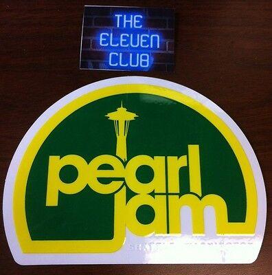 Pearl Jam Sticker Rare NW Light /& Sound Est 1990 WA MINT LP CD Art New OOP