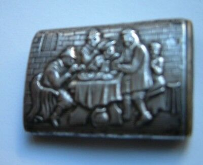 Antike 835 Silberne Zündholzer Dose (Match Safe) 5