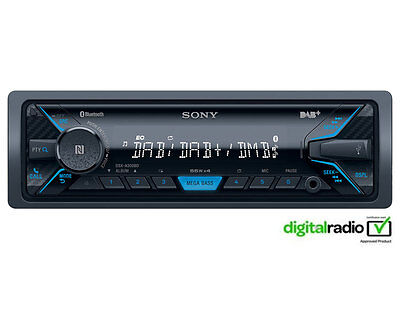 Radio Bluetooth MP3 iPhone iPod Player /& Aerial Sony DSX-A500BD Car Stereo DAB