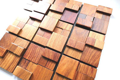 Wood Wall Tiles, Decorative Wall Tiles, Luxurious Wall Decor, 3D Wall Coverings 3