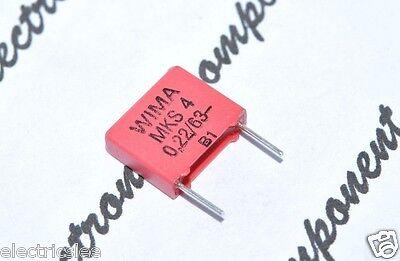 0.1µF 0,1uF 100nF 63V 20/% Capacitor 10pcs-WIMA SMD-PET SMD1812 0.1uF