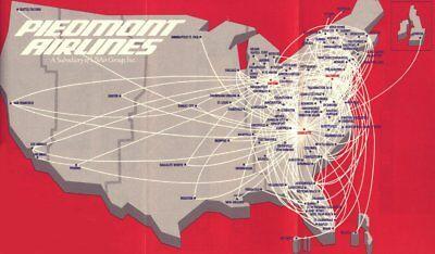 Piedmont Airlines Wing Logo Hat Pin Up Pilot Flight Crew Ramp Gift Wow