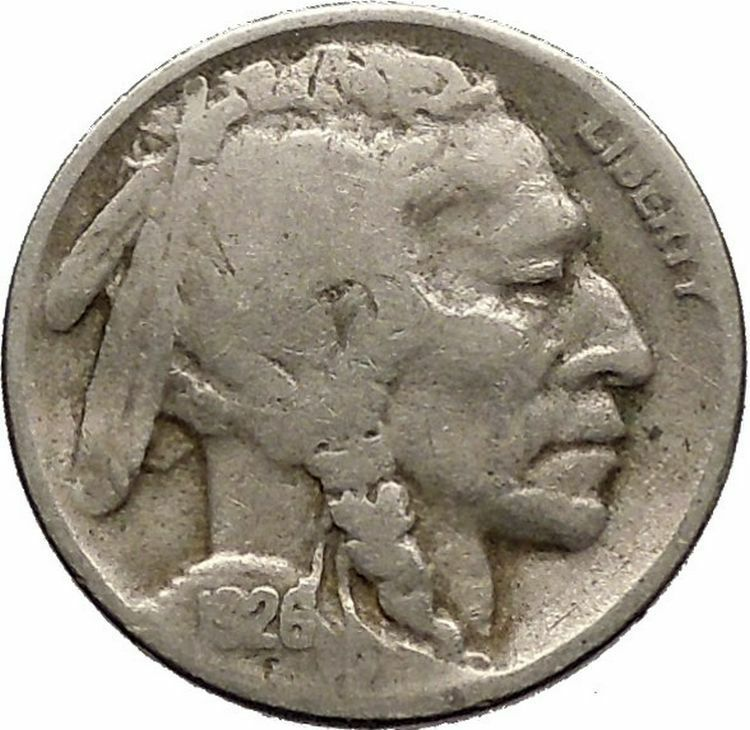 1926D BUFFALO NICKEL 5 Cents of United States of America USA Antique Coin i43682 2