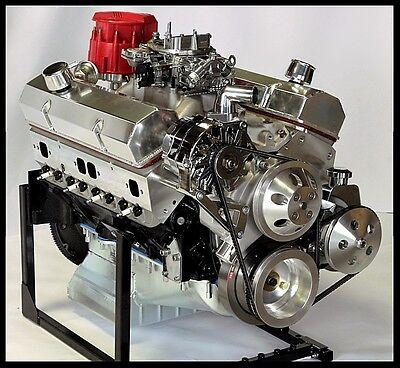 CHEVY TURN KEY SBC 421 STAGE 4 0 DART BLOCK, CRATE MOTOR 550 hp