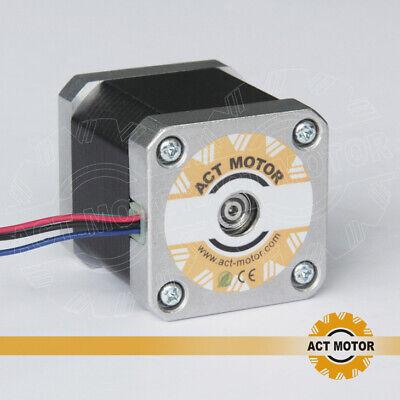 DE Free 3PCS Nema17 Schrittmotor 17HM5417 1.7A 48mm 0.9°  Φ5mm 60oz-in  Bipolar 4