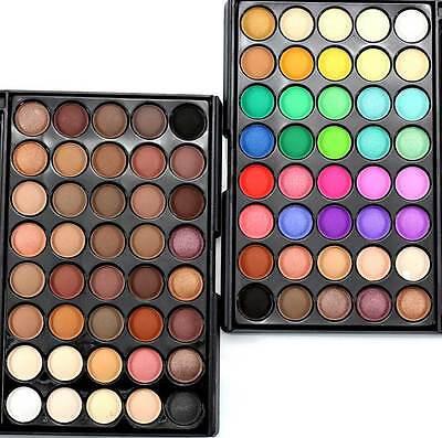 Eyeshadow Palette Makeup 40 Color Cream Eye Shadow Matte Shimmer Set Cosmetic 2