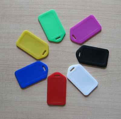 10 Travel Luggage Bag Tag Plastic Suitcase Baggage Office Name Address ID Label 6
