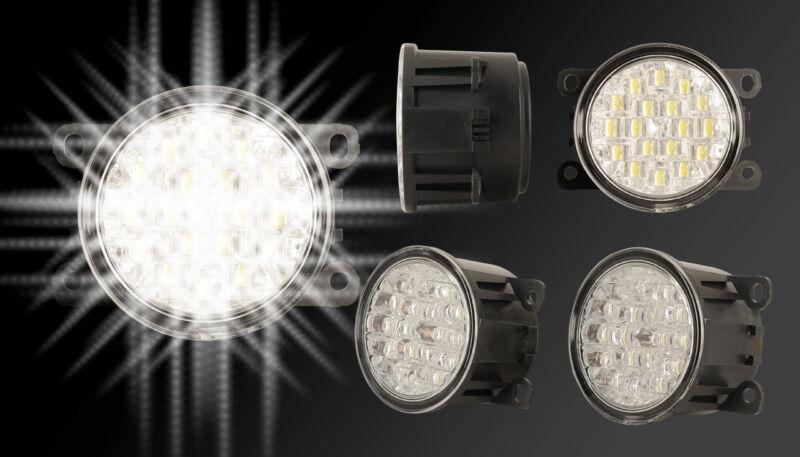 LED Tagfahrlichter Set Citroen C4 Coupe Tagfahrleuchten Tagfahrlicht TFL DRL 4
