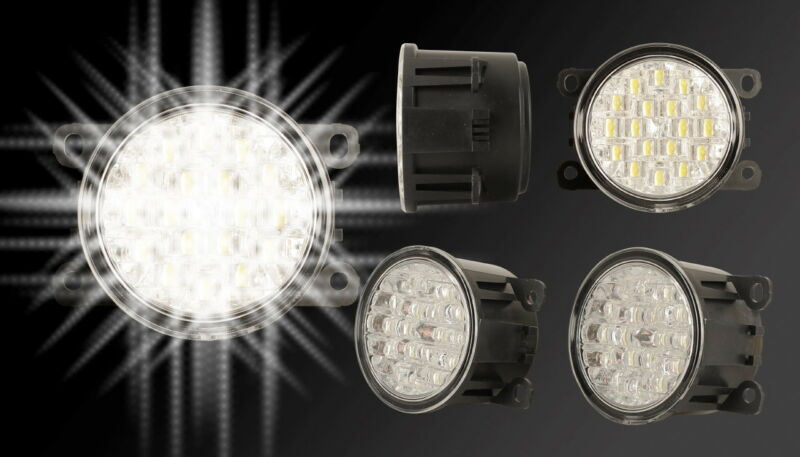 LED Tagfahrlichter Set Tagfahrlicht DRL Citroen C6 Leuchten NSW TFL 4