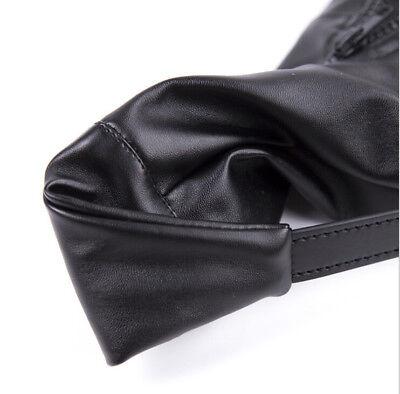 Bondage Shoe Foot Boot Fetisch Fesseln Spielzeug mit Reißverschluss Riemen Fancy 3
