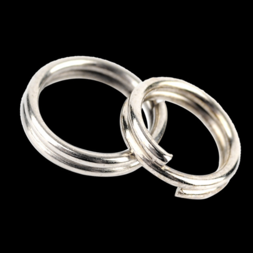 Wholesale 4~35mm Key Rings Chains Split Ring Hoop Metal Loop Accessory Keyring 5