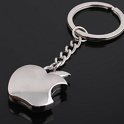 Apple logo Metal Key Chain  Apple Keychain Key Ring 2