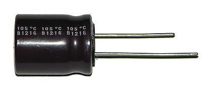 1-1000uf 1000ufd//50V Volt Hi Temp Radial Nichicon Electrolytic Capacitor
