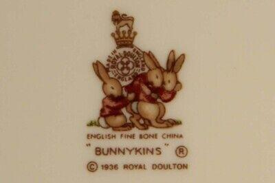 Royal Doulton Bunnykins Nursery Vintage Plate Fine Bone Porcelain L014181 6