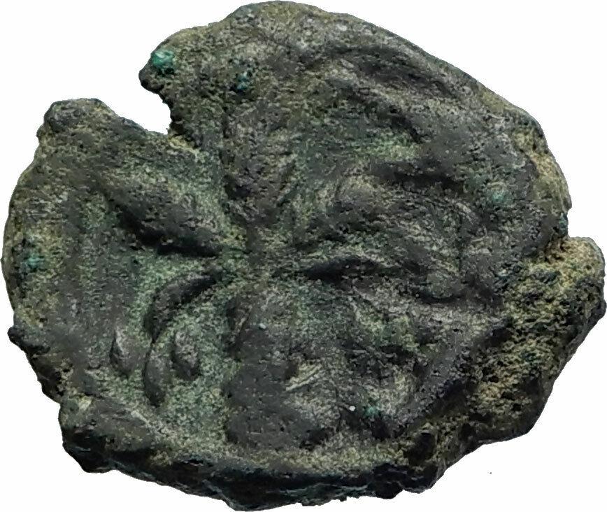HERACLIUS Very RARE Alexandria OCCUPATION Ancient Byzantine 6 Nummi Coin i76954 2