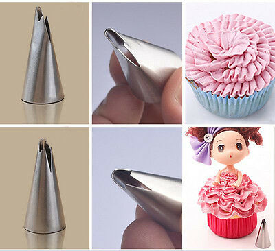 7pcs Russian Tulip Flower Icing Piping Nozzles Cake Decoration Tips Baking Tools 7
