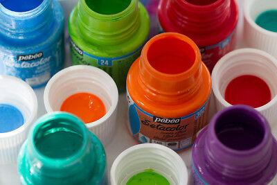 Pebeo Setacolor Fabric Textile Paint 45ml Pot - All OPAQUE Colours Available