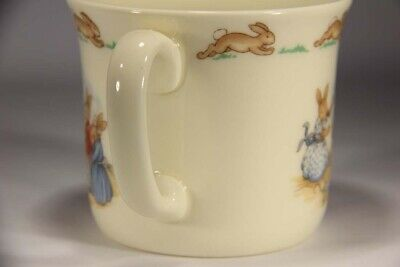 Royal Doulton Bunnykins Nursery Vintage Cup Fine Bone Porcelain L014179 3