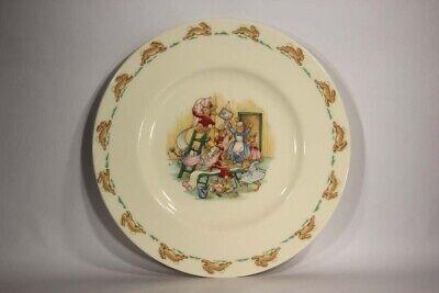Royal Doulton Bunnykins Nursery Vintage Plate Fine Bone Porcelain L014181 2