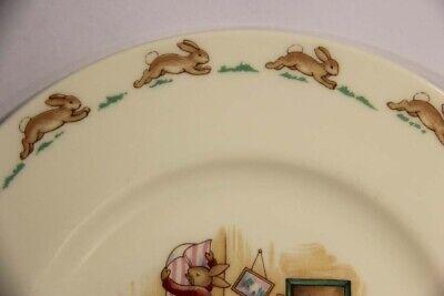 Royal Doulton Bunnykins Nursery Vintage Plate Fine Bone Porcelain L014181 3