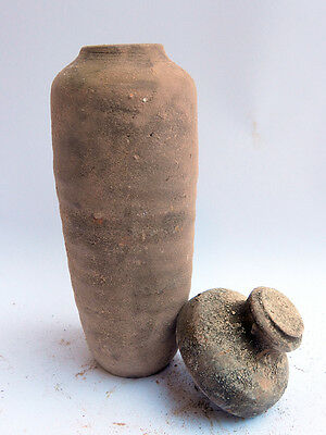 Biblical Ancient Antique Treasures Jug Holy Land Jewish Dead Sea Scroll Jar R 3